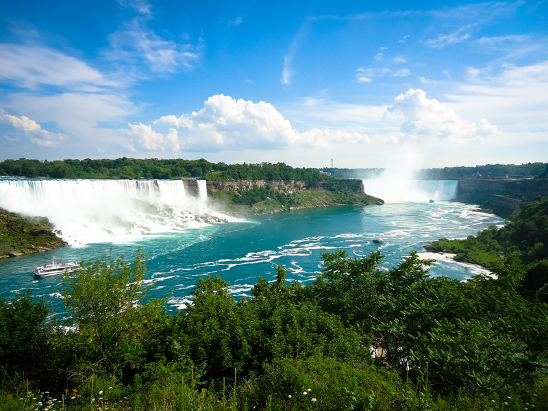Niagara Falls are the main attraction of Buffalo-Niagara Falls region.